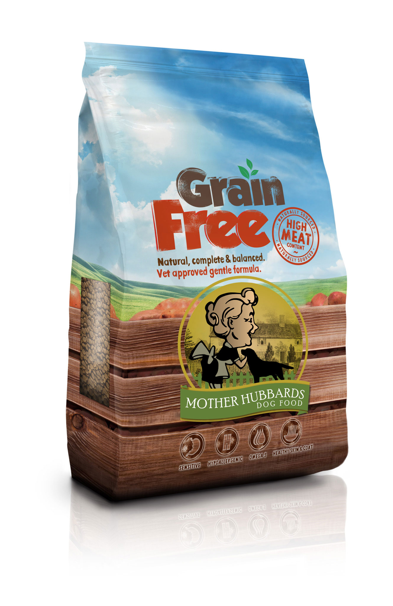 All Natural Grain Free Dry Dog Food