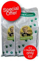 2 x Super Premium  Salmon & Potato 2.5kg Dog Food